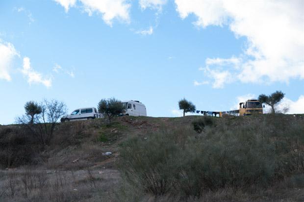 サクロモンテ丘の上のヒッピー