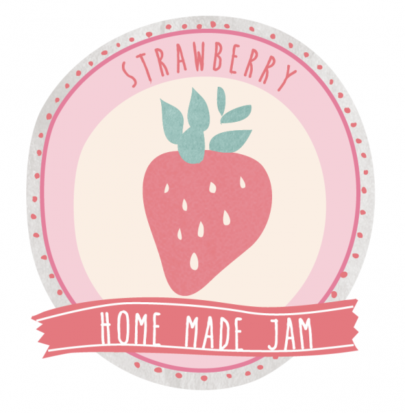 strawberryjamlabel